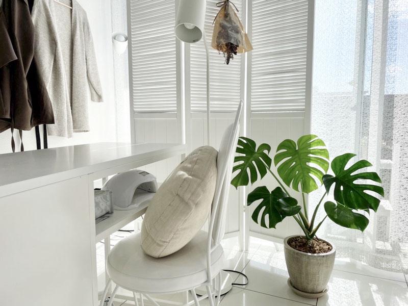 深爪矯正・自爪育成ネイルサロンS-nail店内イメージ