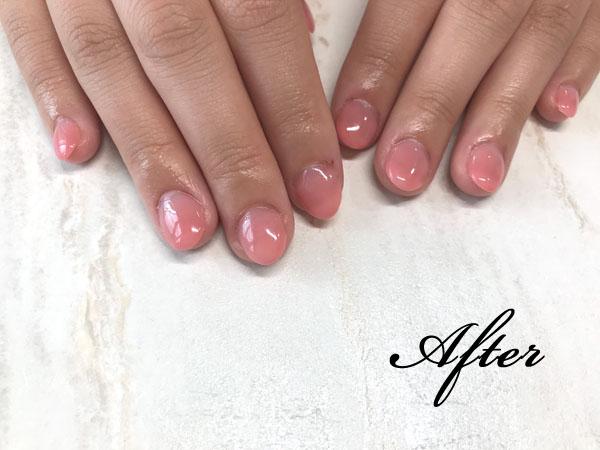 ネイルサロンS-nail深爪矯正・自爪育成イメージ