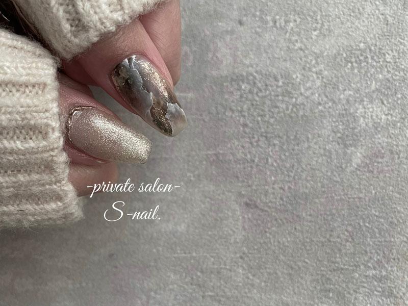 ネイルサロンS-nailはがせるジェルネイルイメージ