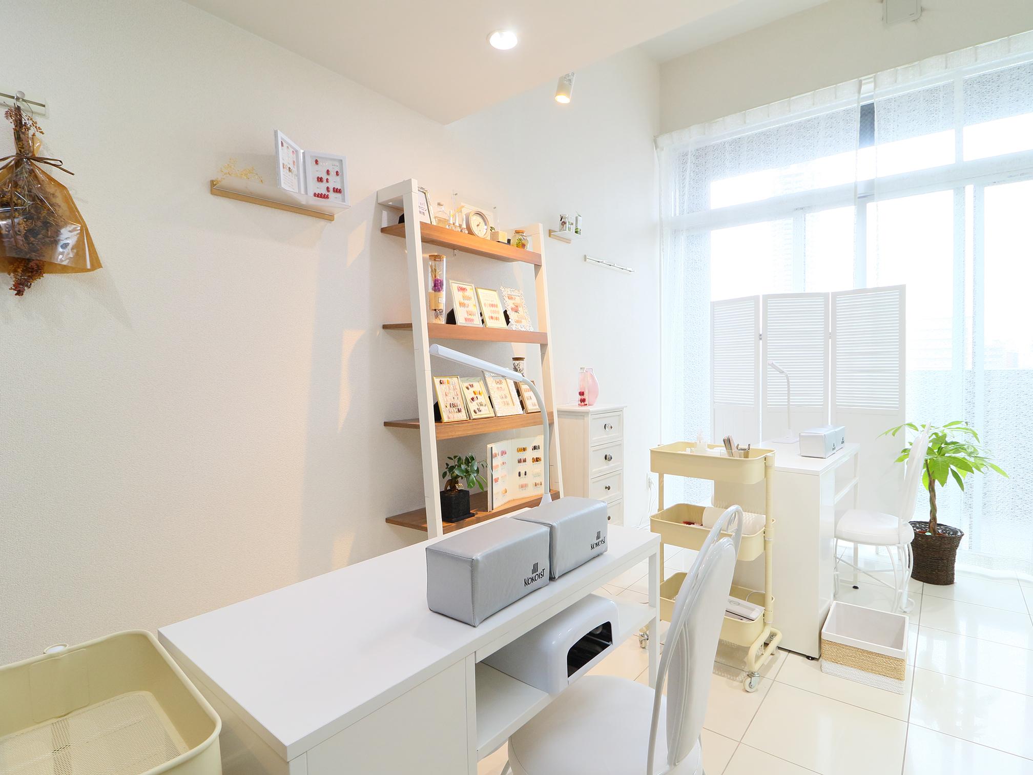 ネイルサロンS-nail店内イメージ